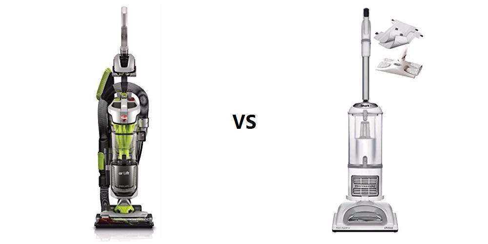 hoover air lift deluxe vs shark navigator liftaway nv356e differences reviews pros and cons compared review finder